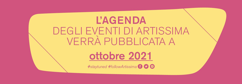 Agenda artissima 2020